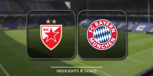 Crvena Zvezda Vs Bayern M U00fcnchen 26th November 2019